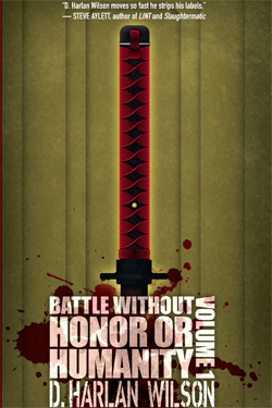 Battle Without Honor irreal short story collection cover art