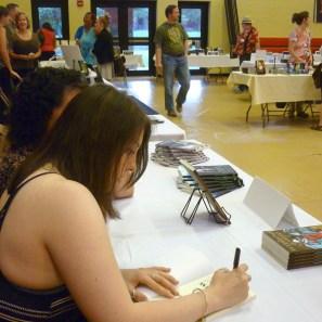 Stephanie Wytovich signing