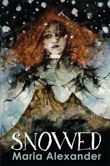 Snowed young adult horror novel cover art