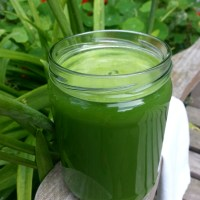 HOT GREEN JUICE