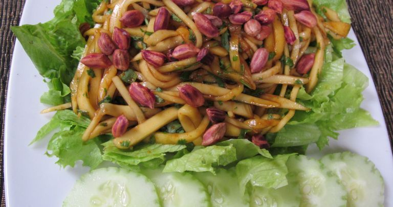 Thai Green Mango Salad with Jungle Peanuts