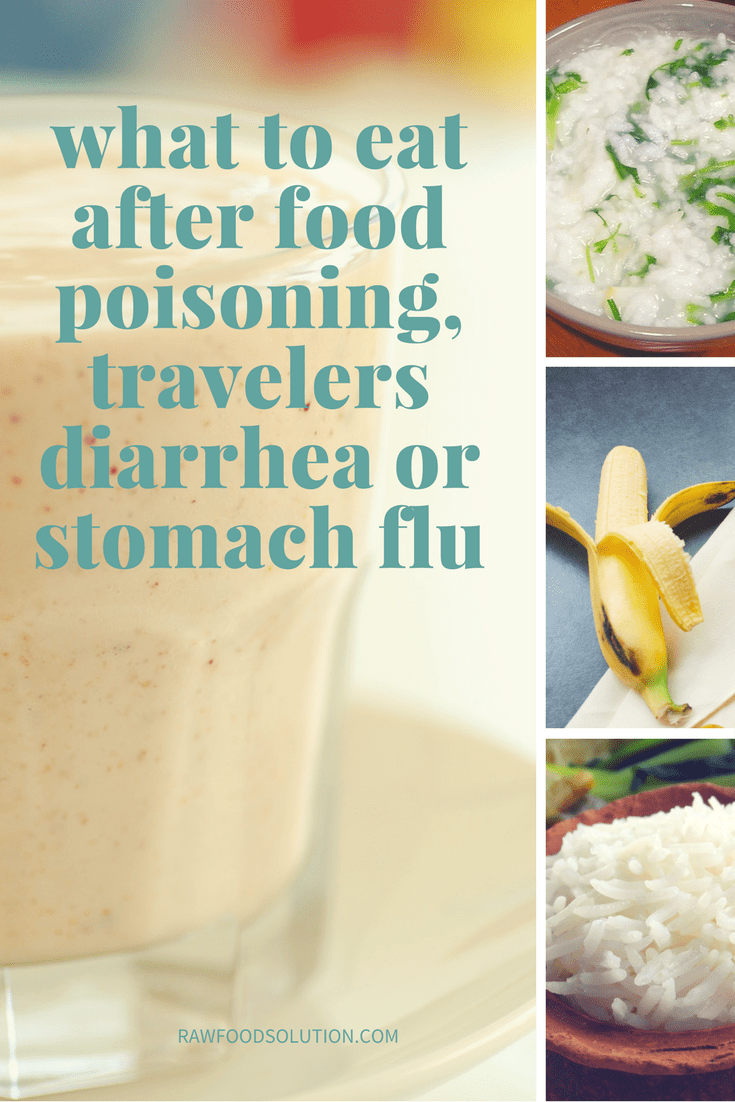 Diarrhea Food Poisoning What To Eat