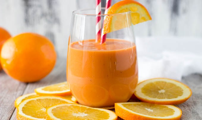 Wild Orange Jaffa Smoothie