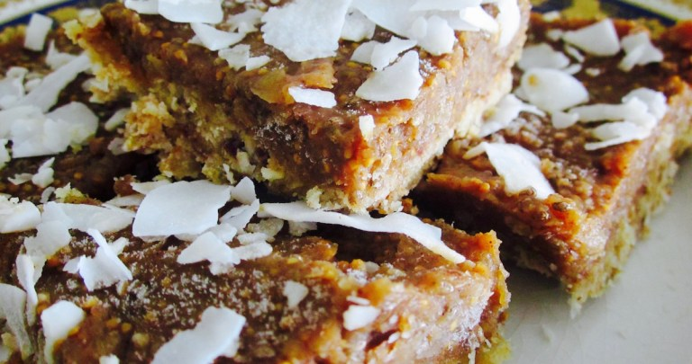Fig & Coconut Bars