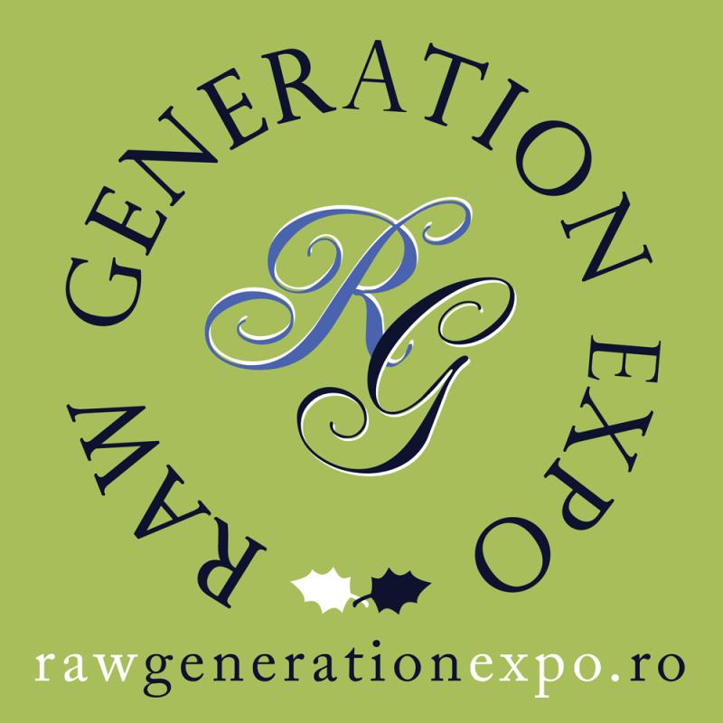 Brandul expozitiei Raw Generation