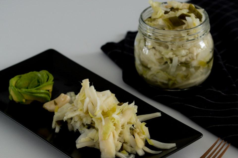sauerkraut kimchi style recipe