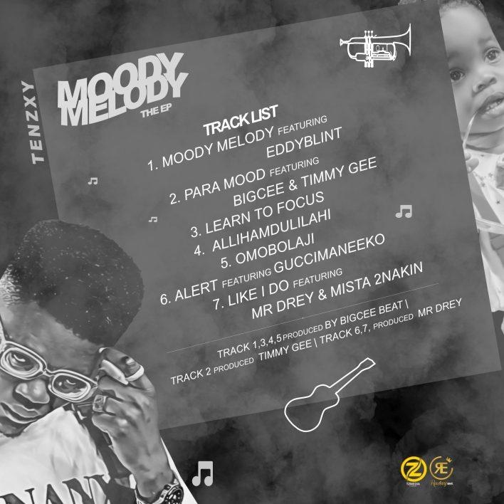 (EP ALBUM) Tenzxy_ Mood Melody