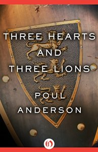 Three Hearts and Three Lions (modern cover)