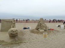 sand sculpture, event, ocean, beach, summer fun, author blog, life, art, 2017, June, hampton, books, writer, blogger,