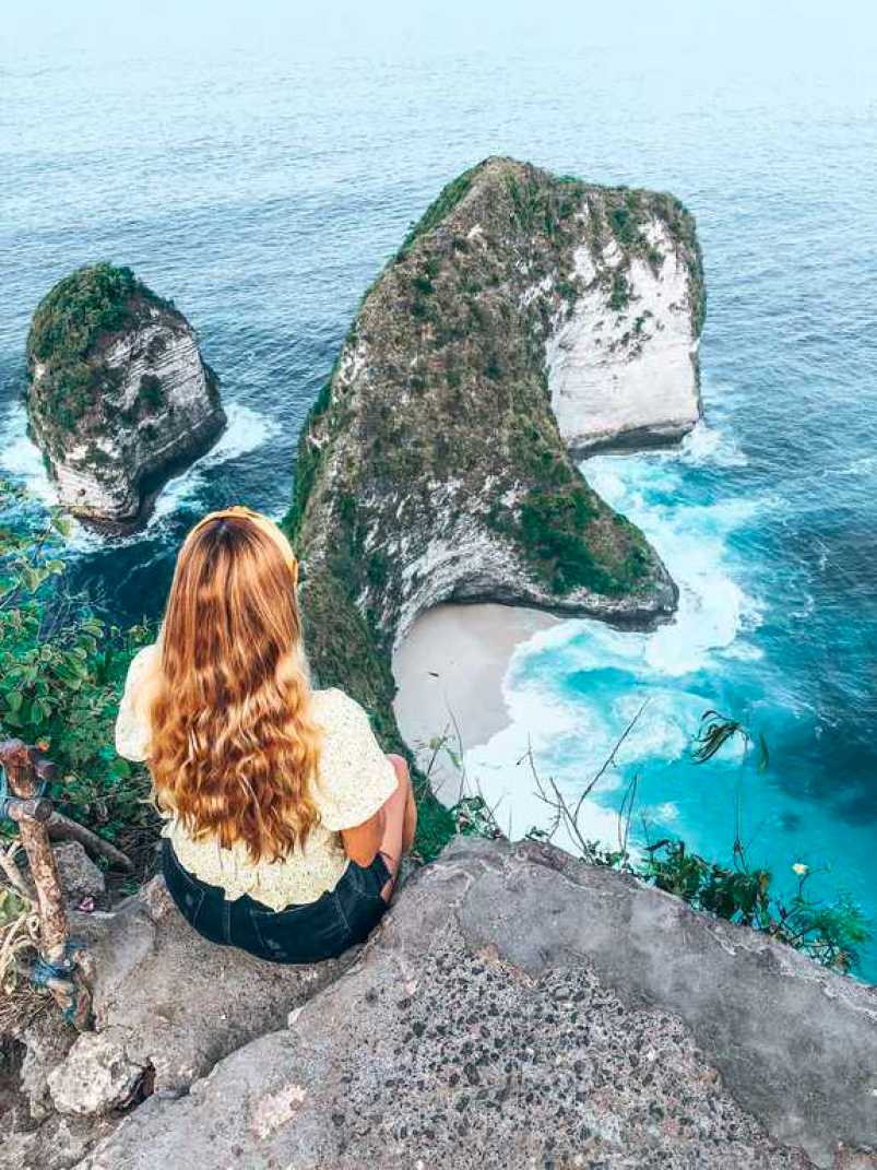 Kelingking clifftop, Kelingking Beach, Nusa Penida