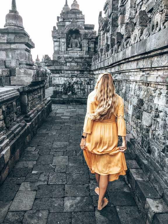 ticket Borobudur
