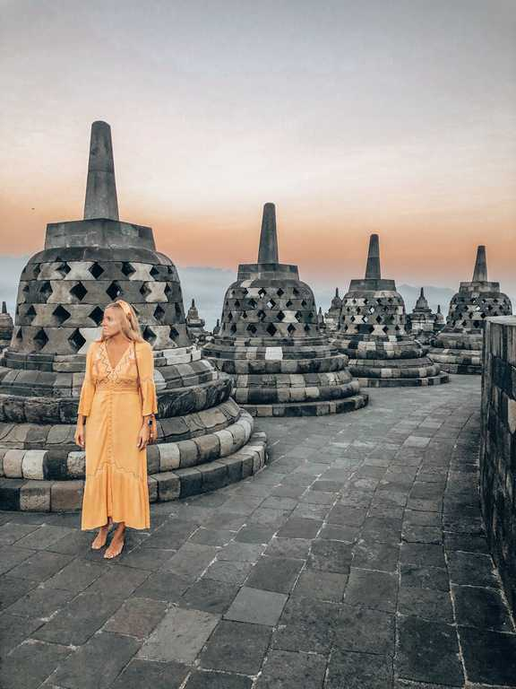 borobudur temples, borobudur tempel, sunrise borobudur