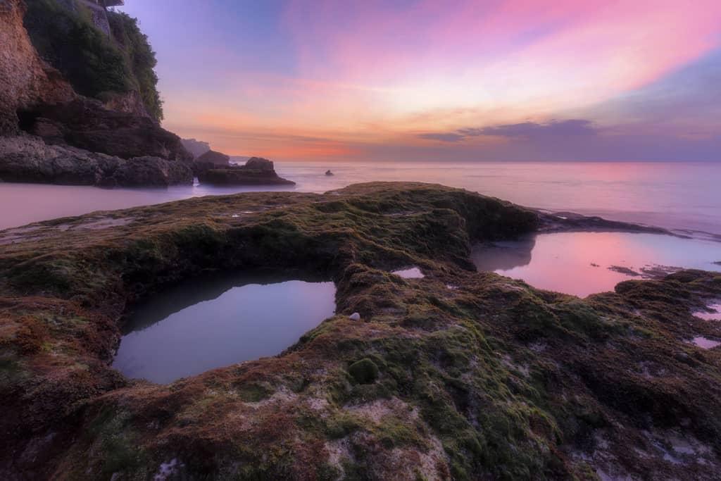Sunset at Tegal Wangi Bali
