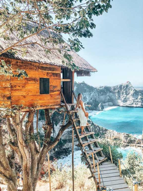 Rumah Pohon Tree House, Nusa Penida, Bali