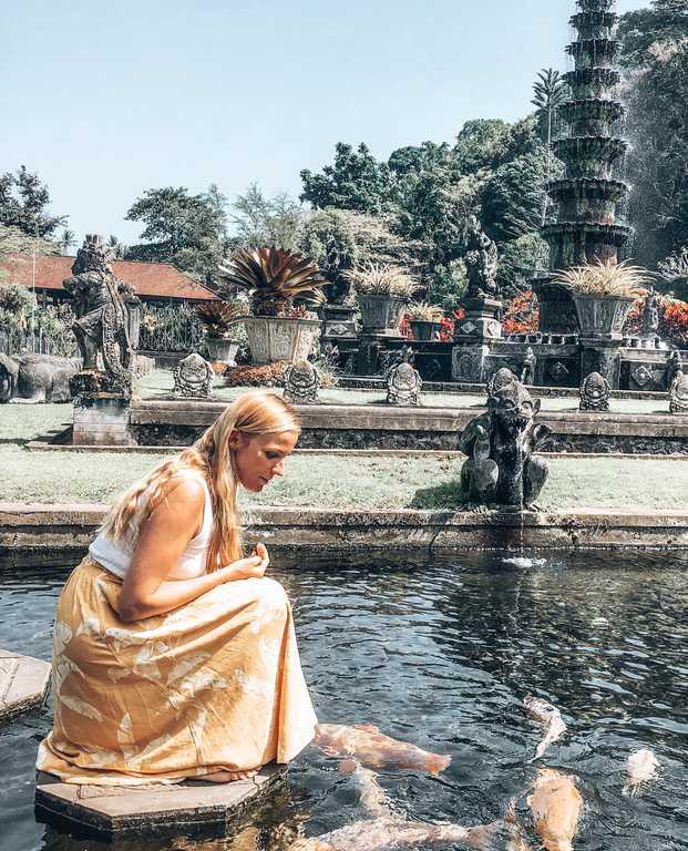 Tirta ganga, water palace, bali