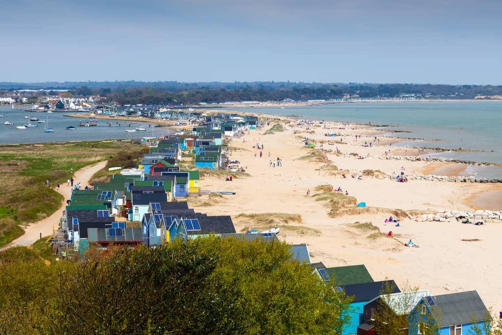 mudeford beach uk
