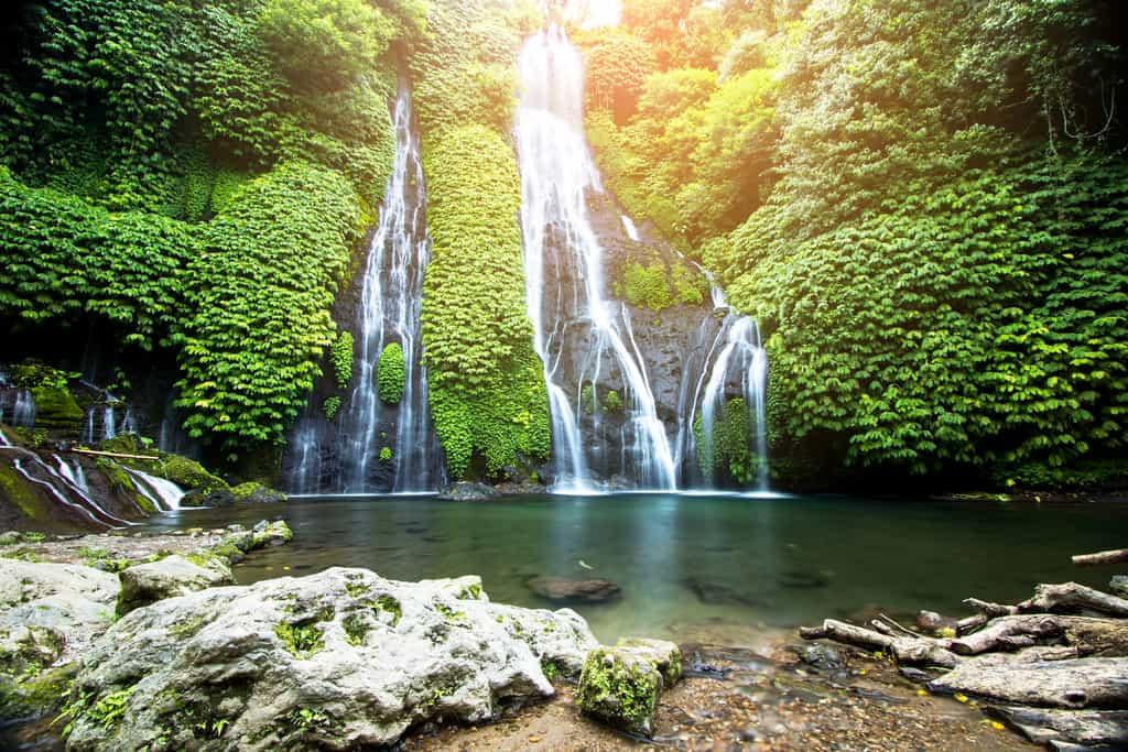 banyumala twin waterfall