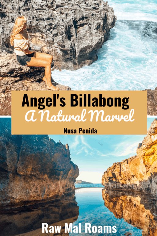 A complete guide to the epic Angel's Billabong on Nusa Penida #angelsbillabong #angelsbillabongnusapenida #nusapenida #bali #indonesia
