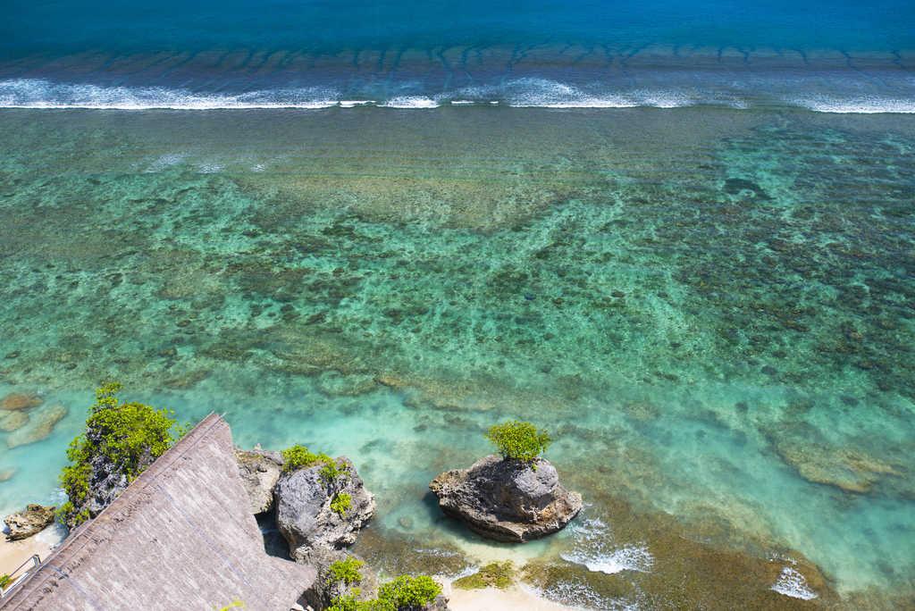 Aerial image of Bingin Beach
