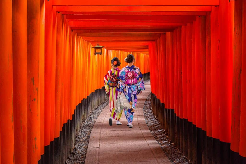 kyoto, fushimi inari shrine, Japan, most beautiful city in asia