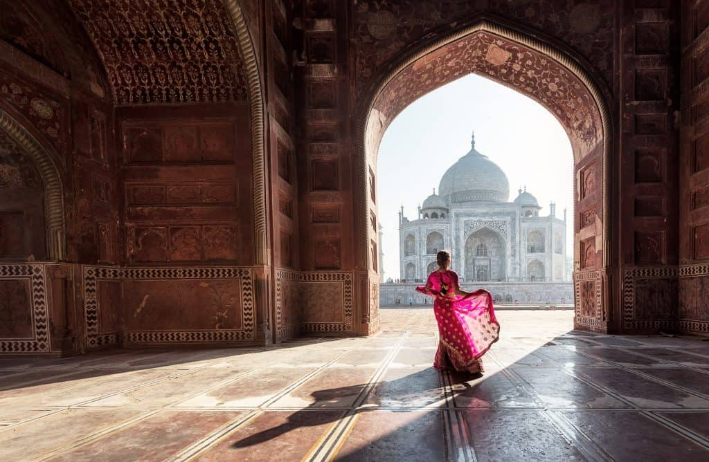 taj mahal india, most beautiful places in the india