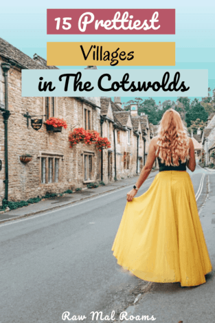 This is a guide to the most beautiful villages in the Cotswolds, things to do, places to stay and best photo spots. #cotswolds #england #unitedkingdom #ukstaycation #cotswoldsvillages