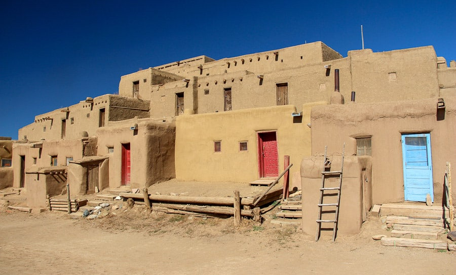taos pueblo, most amazing places in the us