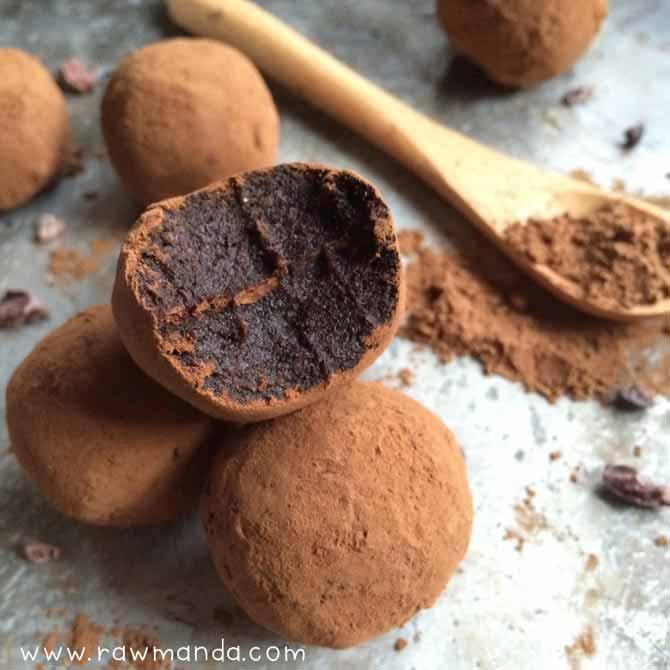 tartufi cioccolato e cocco pronti in 5 minuti