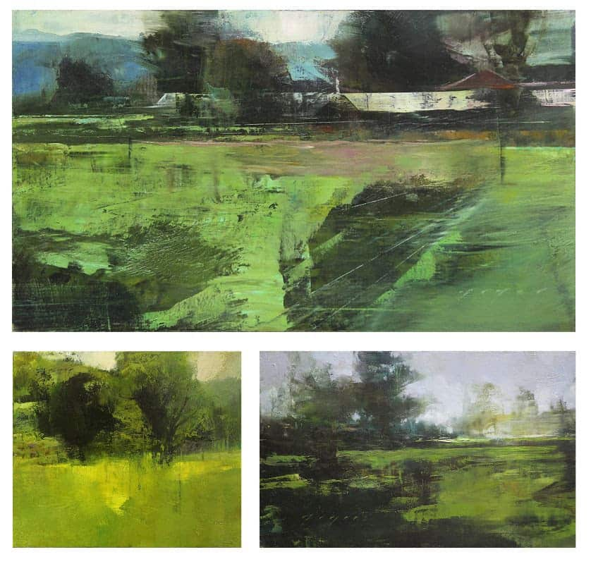 Experience Green with Gamblin Artist's Oil Colors