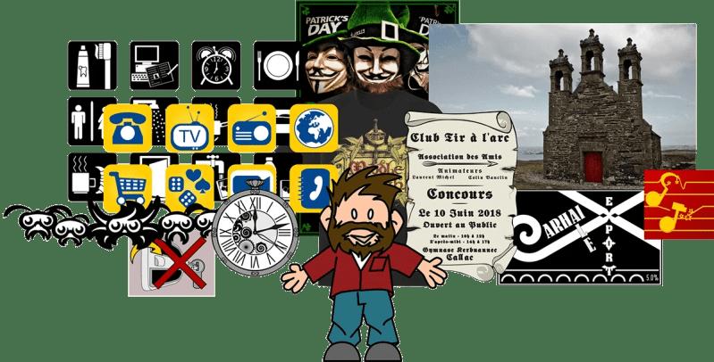Infographie et créations graphiques en Bretagne