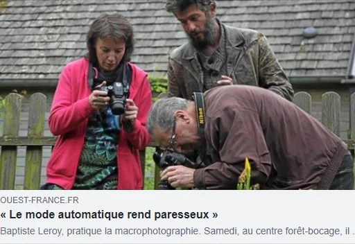 OUEST FRANCE - Atelier Macrophotographie