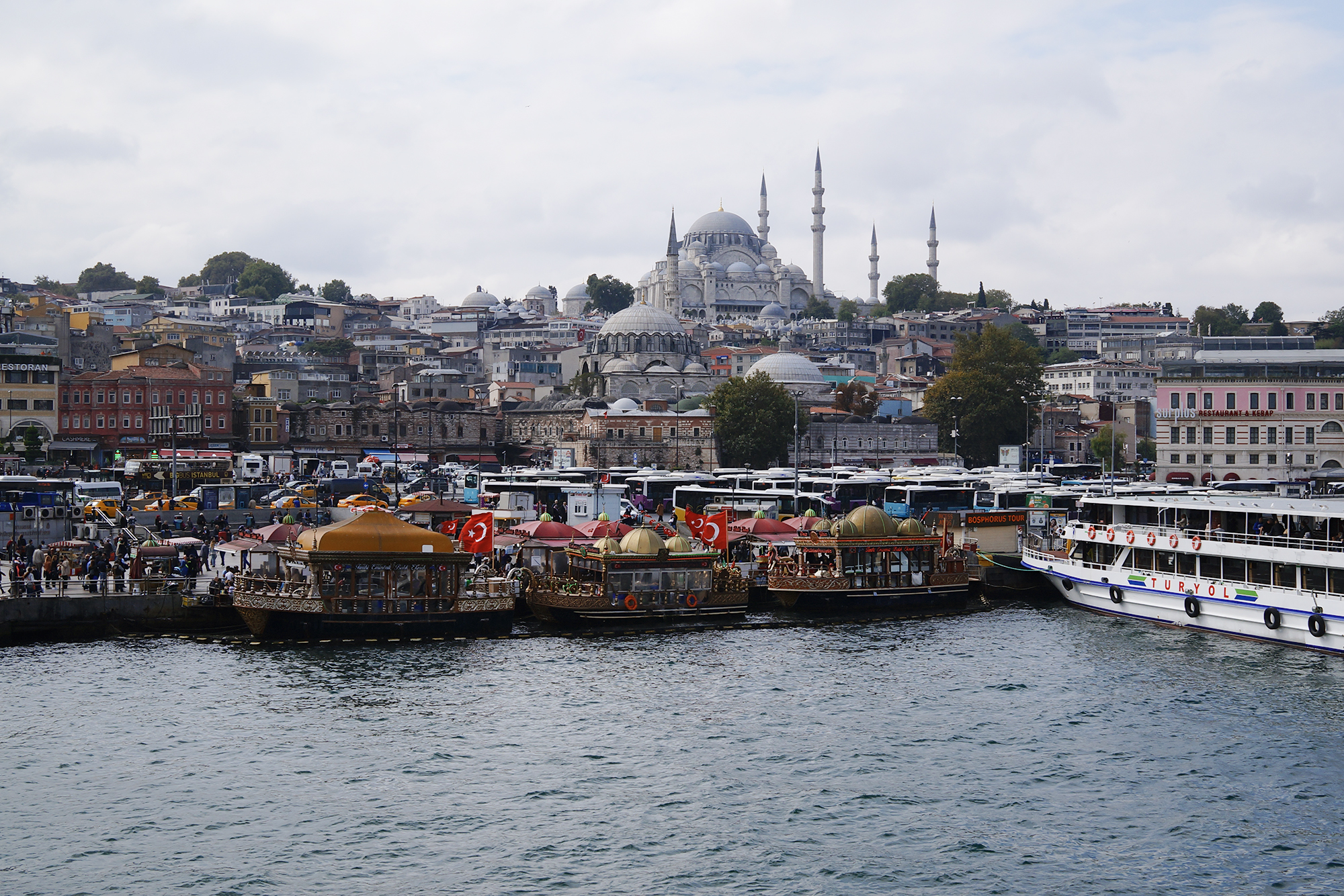 the two continents of istanbul
