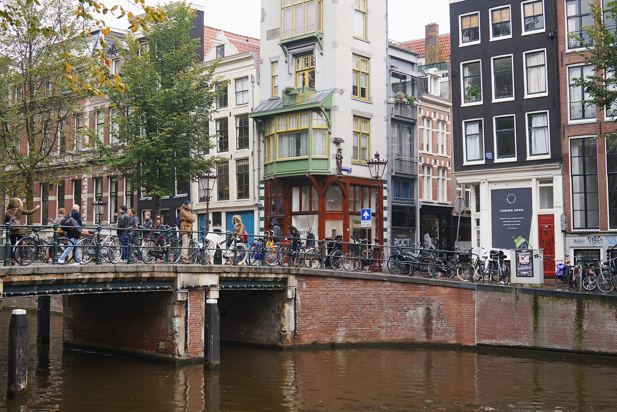 falling in love with amsterdam