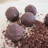 Day 145 - Michelle Bridges Cacao Fudge Balls - Trashy Mag Raw Food Recipe 3