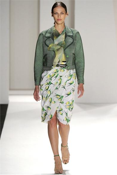 Carolina Herrera Spring 2012 N.Y Fashion Show