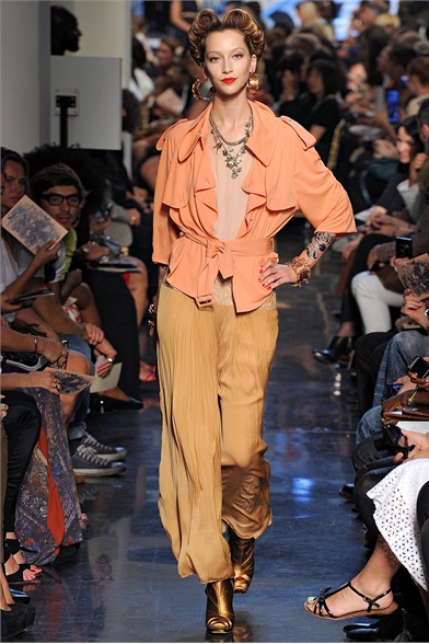 John Paul Gaultier Spring 2012 Paris Fashion Show
