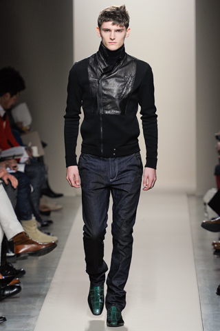 Bottega Venetta Men's Fall 2012 Milan Show