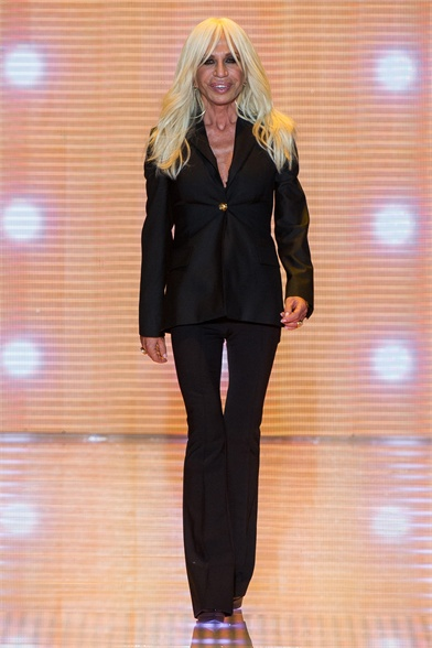 Versace Spring 2013 Milan Fashion Week Show