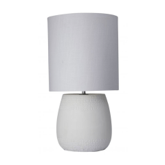 Franklin white table lamp