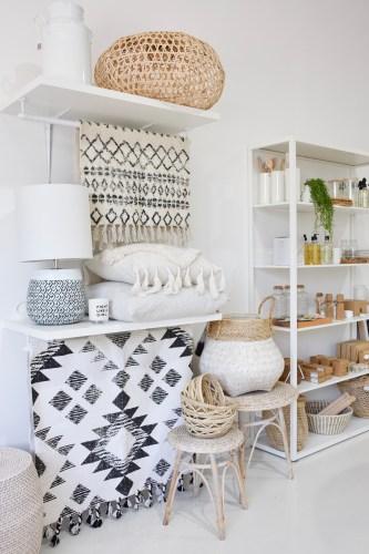 Maroochydore Interiors Decor Homewares Store Boho coastal moroccan inspired home