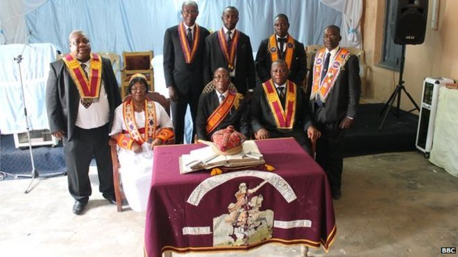 Keeping the faith in Ghana - Orange Order on the equator