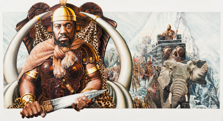 100 of The Greatest African Heroes