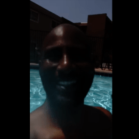 Woman Questioning Black Father And Son At Neighborhood Pool #poolsidepatty  (VIDEO)