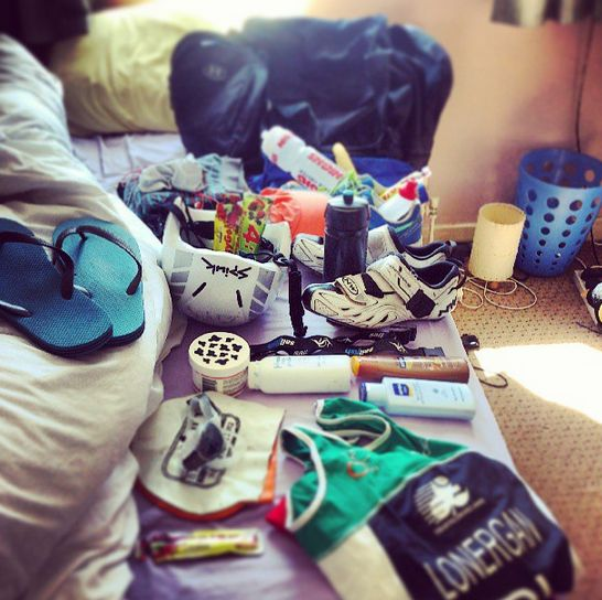 Packing for the World Triathlon Championships! (2/3)