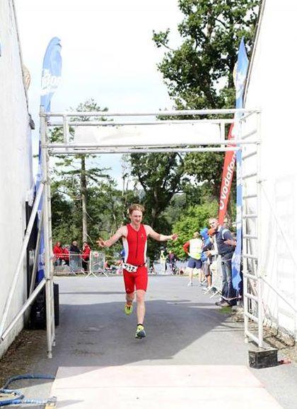 10k Ray Mourne Triathlon Finish Line