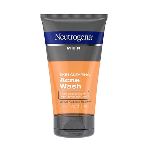 Neutrogena Men Skin Clearing Salicylic Acid Acne Face Wash 150ml
