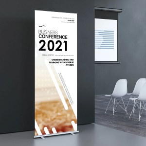 premium retractable banner stand
