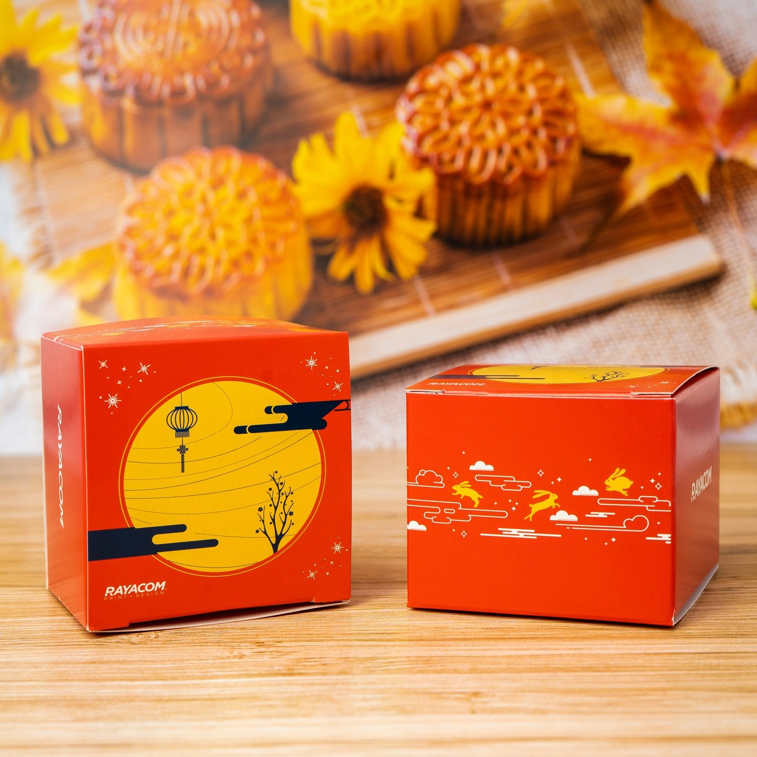 moon cake product box
