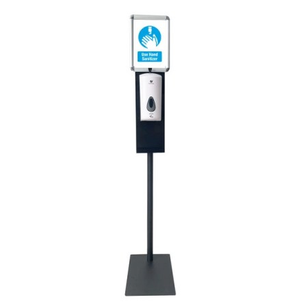 "Hand Sanitizing Station with 8.5""x11"" Poster Holder"