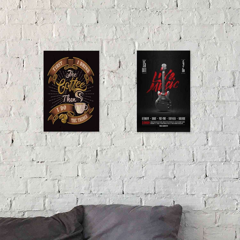 24 Hour Posters printed in Red Deer